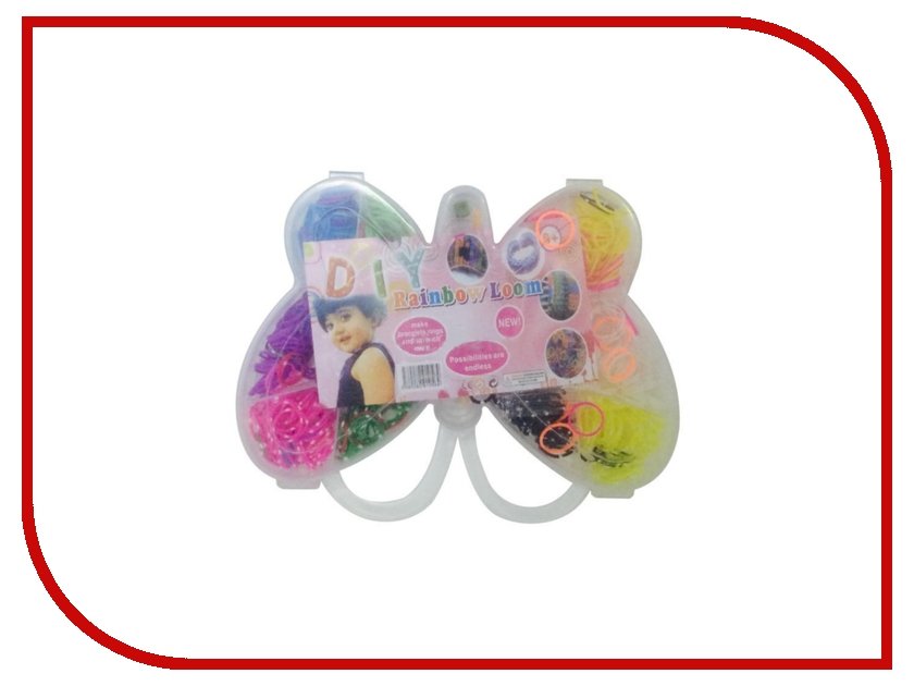 Набор для творчества DIY Loom Bands Маленькая бабочка / Mini Beauty Set K-11