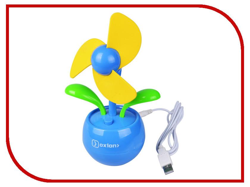 Вентилятор от USB Oxion OFN004BL Blue<br>