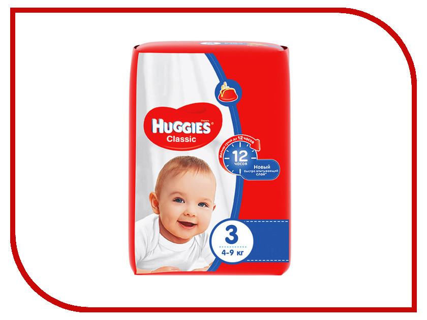 Подгузники Huggies Classic 3 4-9кг 31шт