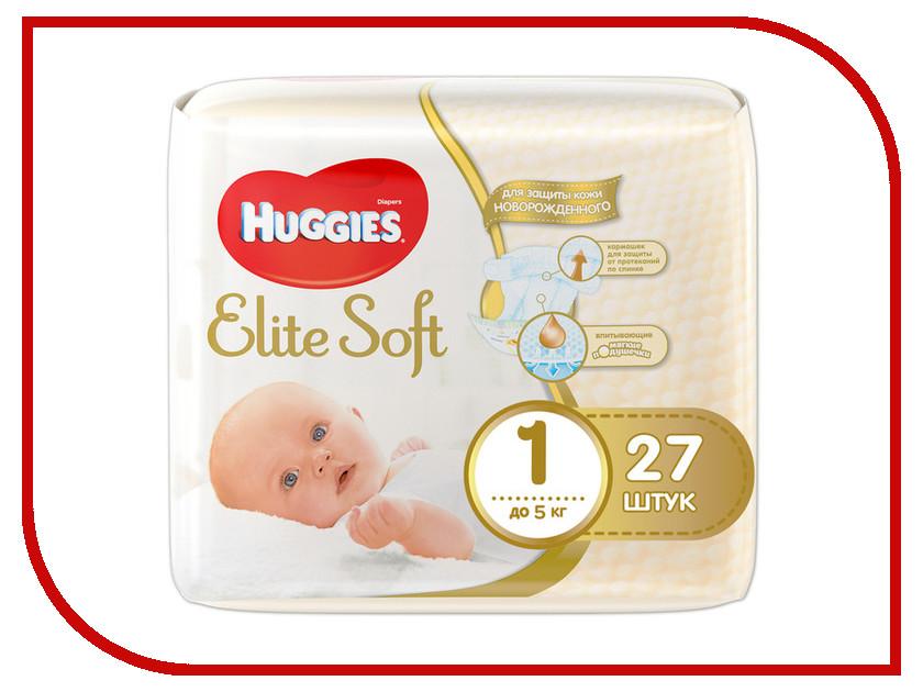 Подгузники Huggies Elite Soft до 5кг 27шт