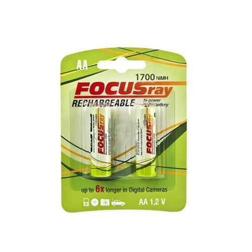 Аккумулятор AA - FOCUSray 1700 mAH (2 штуки)<br>