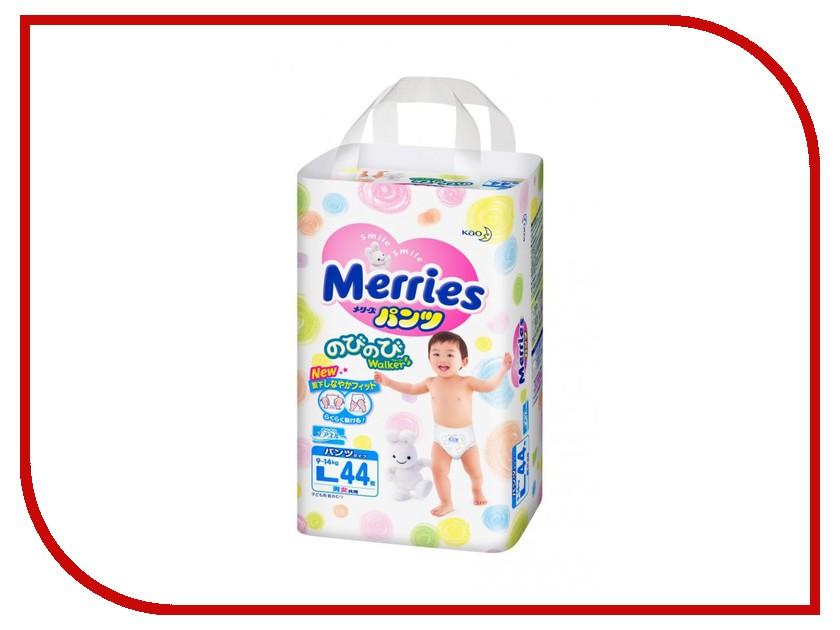 Подгузники Merries L трусики 9-14кг 44шт 62020081