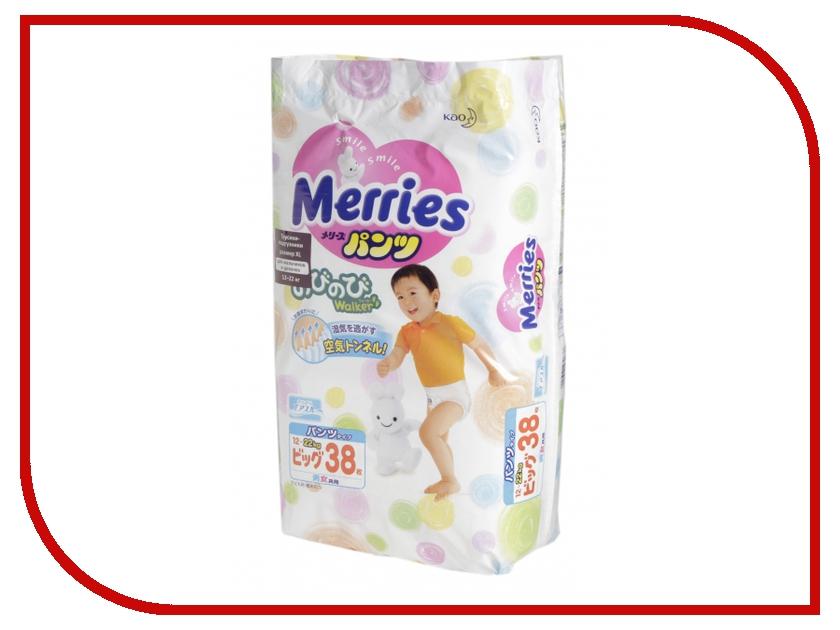 Подгузники Merries XL трусики 12-22кг 38шт 62020091 / 4901301230676<br>