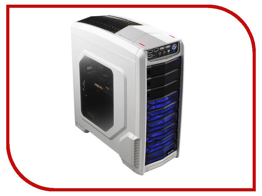 Корпус GMC V1000 Phantom w/o PSU White