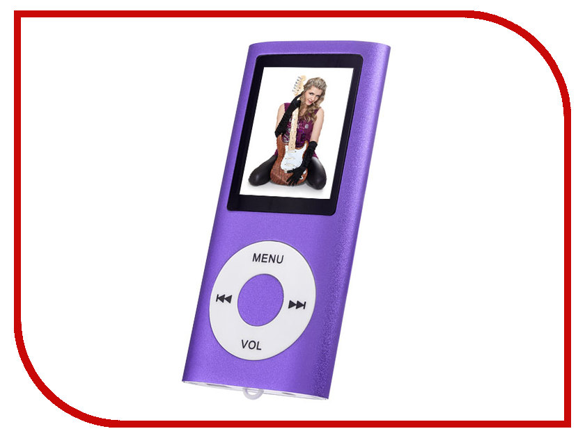 Плеер Perfeo VI-M011 Purple плеер perfeo vi m011 голубой