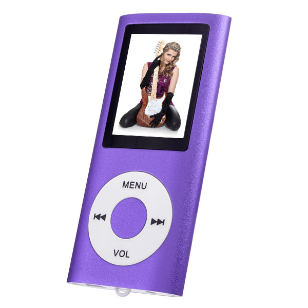Плеер Perfeo VI-M011 Purple mp3 плеер perfeo music i sonic fuchsia vi m011 fuchsia