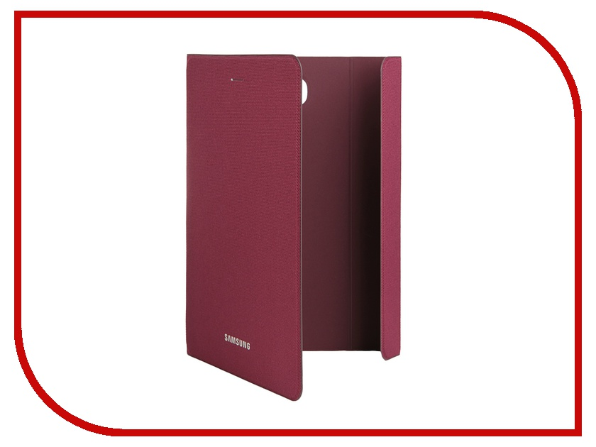 Аксессуар Чехол Samsung Galaxy Tab A 8 SM-T350 / SM-T355 BookFabric EF-BT350BQEGRU Dark Red<br>