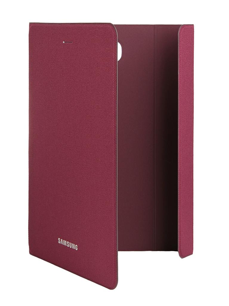Аксессуар Чехол Samsung Galaxy Tab A 8 SM-T350 / SM-T355 BookFabric EF-BT350BQEGRU Dark Red<br>