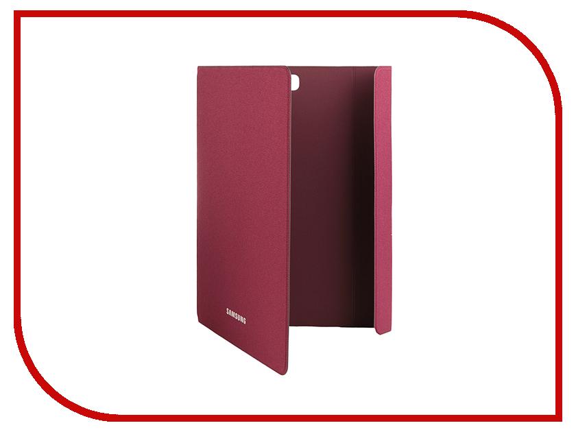 Аксессуар Чехол Samsung Galaxy Tab A 9.7 SM-T550 / SM-T555 BookFabric EF-BT550BQEGRU Dark Red<br>