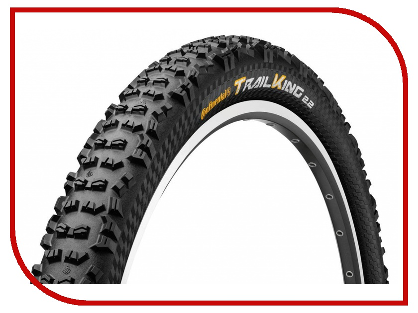 Велопокрышка Continental Trail King 2.2 26x2.2 Black 100304