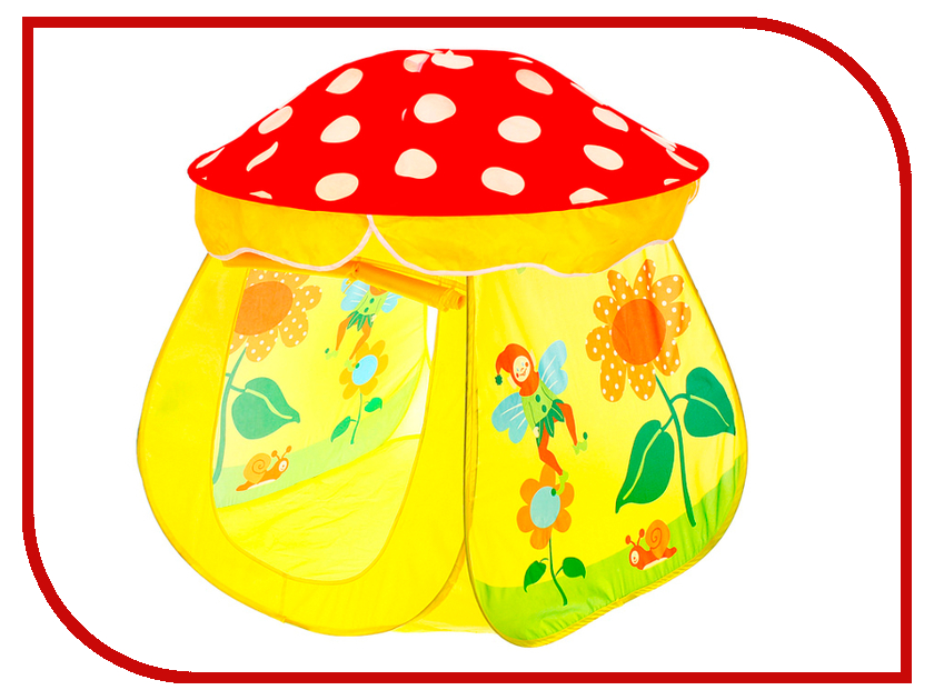 Игрушка Палатка СИМА-ЛЕНД Сказочный домик Red-Yellow 113791
