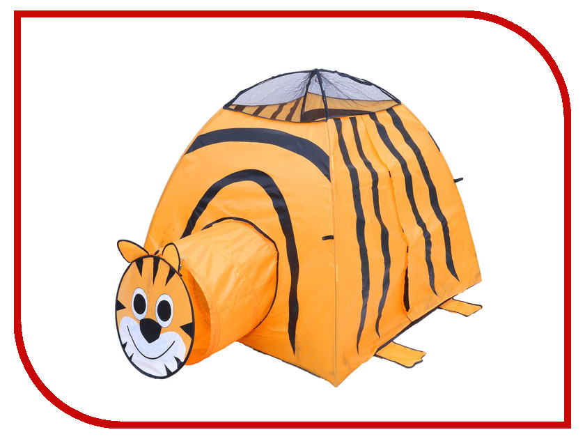 Игрушка для активного отдыха Палатка СИМА-ЛЕНД Тигр Orange 113789<br>