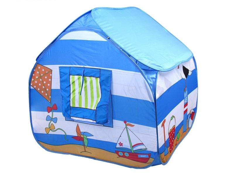 Игрушка Палатка СИМА-ЛЕНД Морской домик Blue 113787