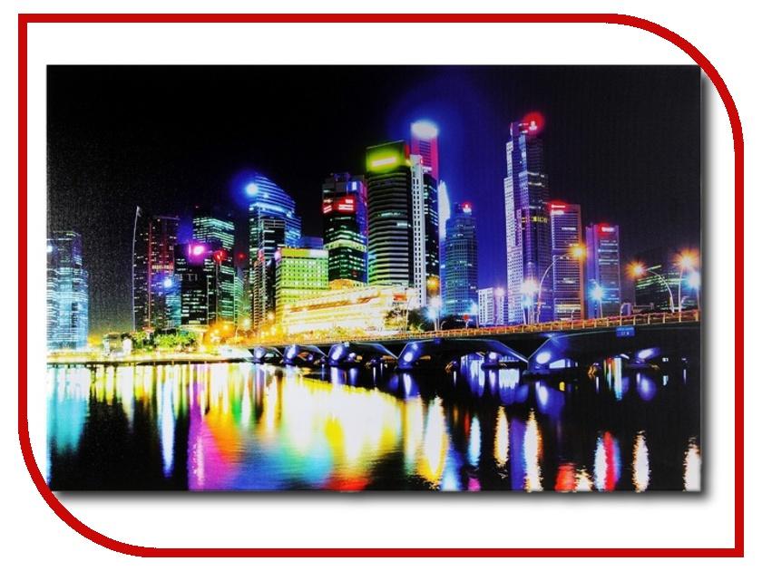 Картина СИМА-ЛЕНД Неоновый мегаполис 296535<br>
