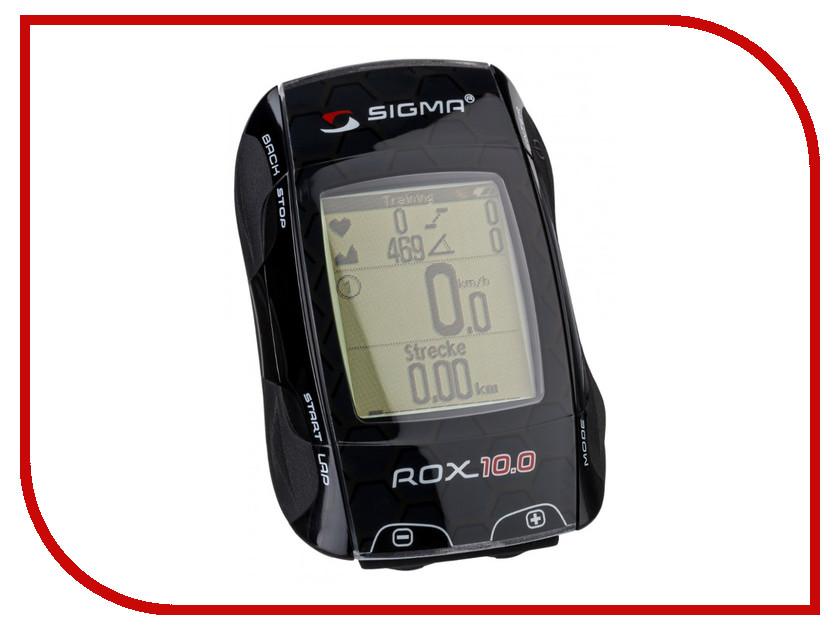 Велокомпьютер Sigma Rox 10.0 GPS Basic Black 701002