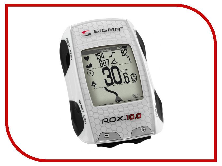 Велокомпьютер Sigma Rox 10.0 GPS Set White 701001