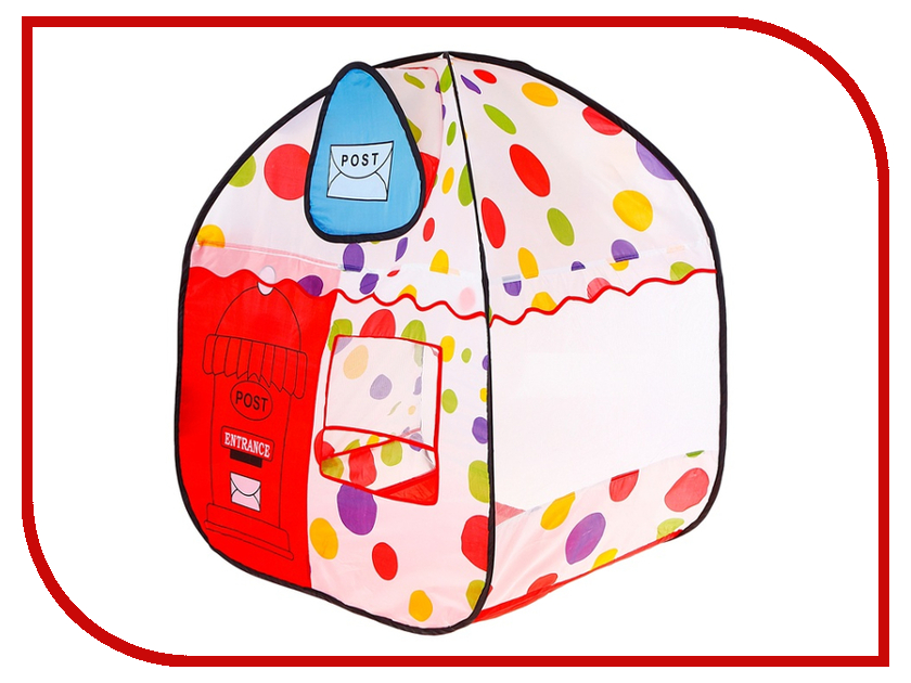 Игрушка Палатка СИМА-ЛЕНД Веселая почта 842045 игровая палатка sland веселая почта 842045