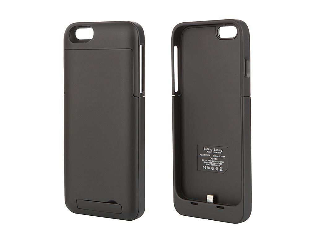 Аксессуар Чехол-аккумулятор Ainy 3200 mAh для iPhone 6 Black
