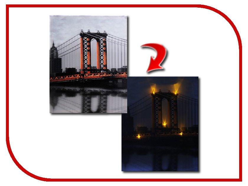 Картина СИМА-ЛЕНД Мост отражение 760605<br>