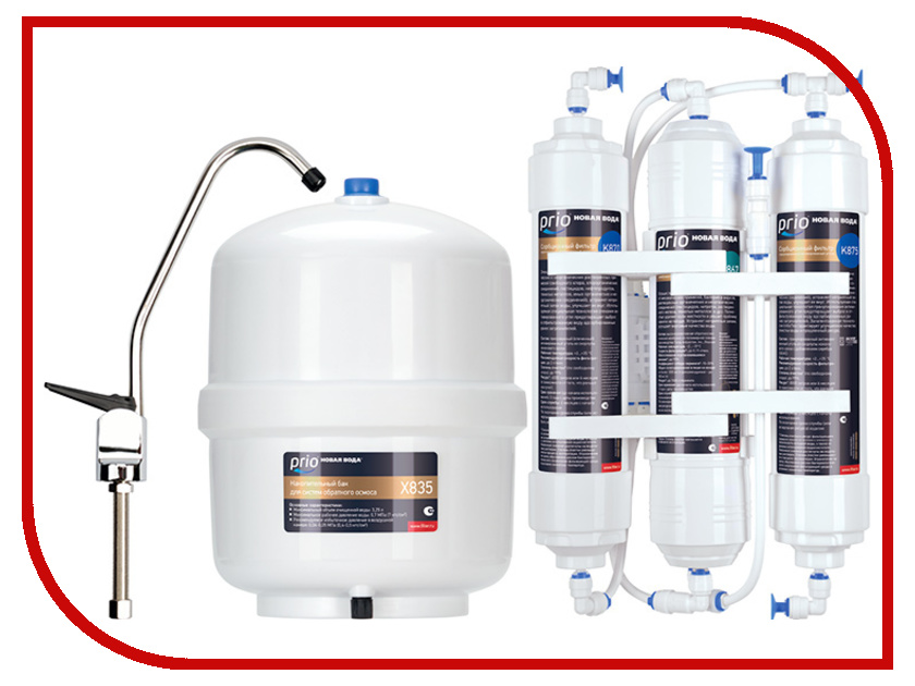 Фильтр для воды Новая Вода Econic Osmos O300 новая вода praktic osmos ou400