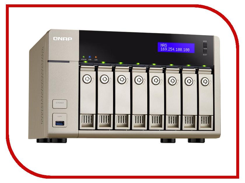 Сетевое хранилище QNAP TVS-863-4G<br>