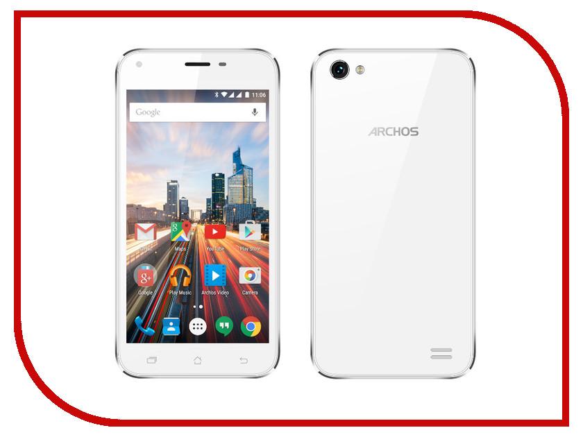 Сотовый телефон Archos 50 Helium Plus White<br>