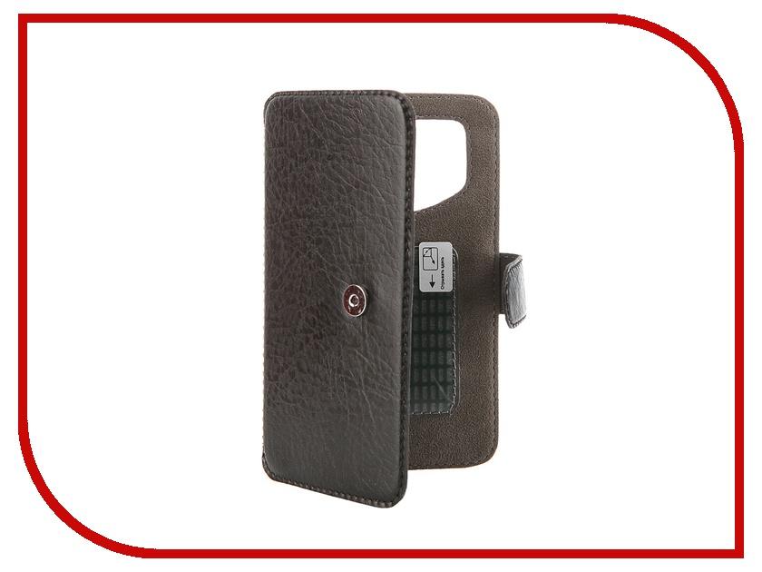 Аксессуар Чехол-книжка Norton Ultra Slim 3.2-4.2 127x67mm Black чехлы для планшетов norton чехол книжка norton универсальный 7 199х122 мм с уголками черный карбон