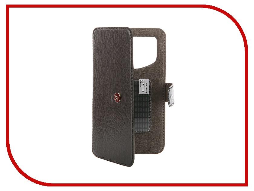 Аксессуар Чехол-книжка Norton Ultra Slim 4.3-4.8 137x68mm Black