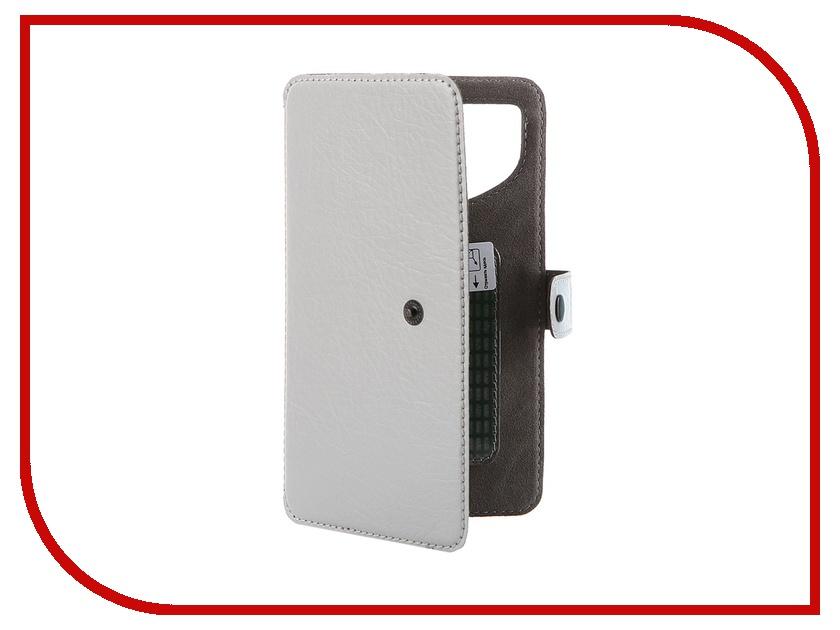 Аксессуар Чехол-книжка Norton Ultra Slim 5.3-5.7 153x80mm Grey