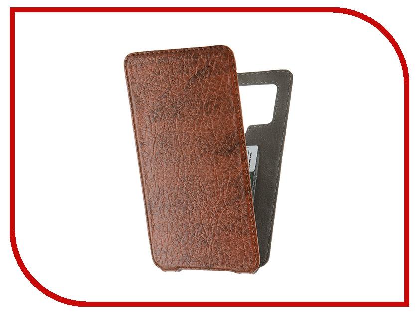 Аксессуар Чехол Norton Ultra Slim 3.6-4.2 129x69mm Brown<br>