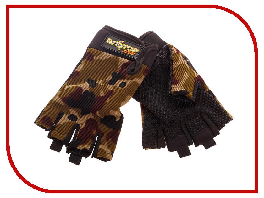Велоперчатки Onlitop S 677177 коньки onlitop 39 42 coral 869340 защита