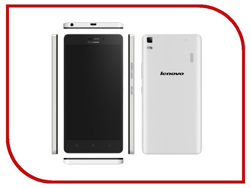 Сотовый телефон Lenovo A7000 White<br>