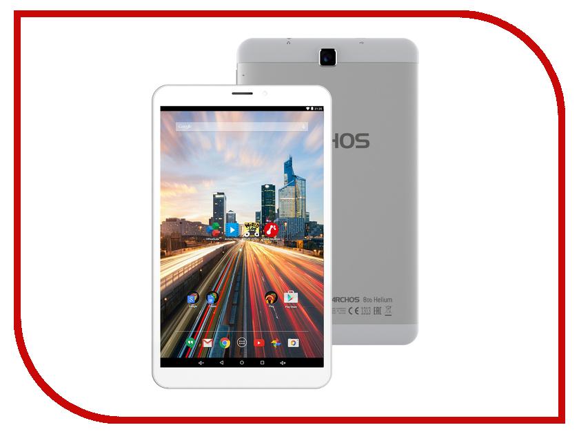 Планшет Archos 80b Helium Mediatek MT8732 1.5 GHz/1024Mb/8Gb/Wi-Fi/LTE/Bluetooth/GPS/Cam/8.0/1280x800/Android