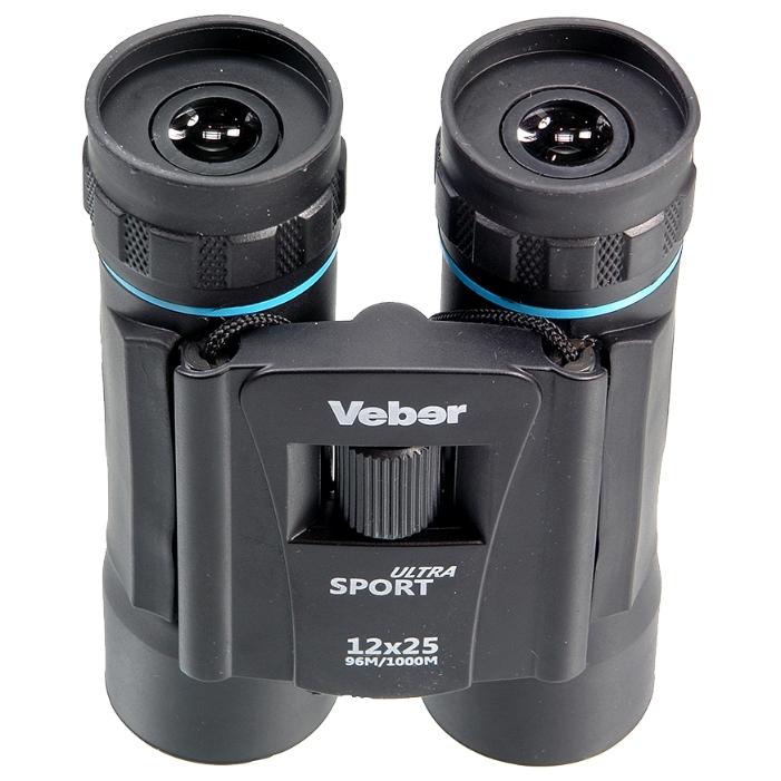 Бинокль Veber Ultra Sport БН 12x25 veber silver line бн 10x50 wp