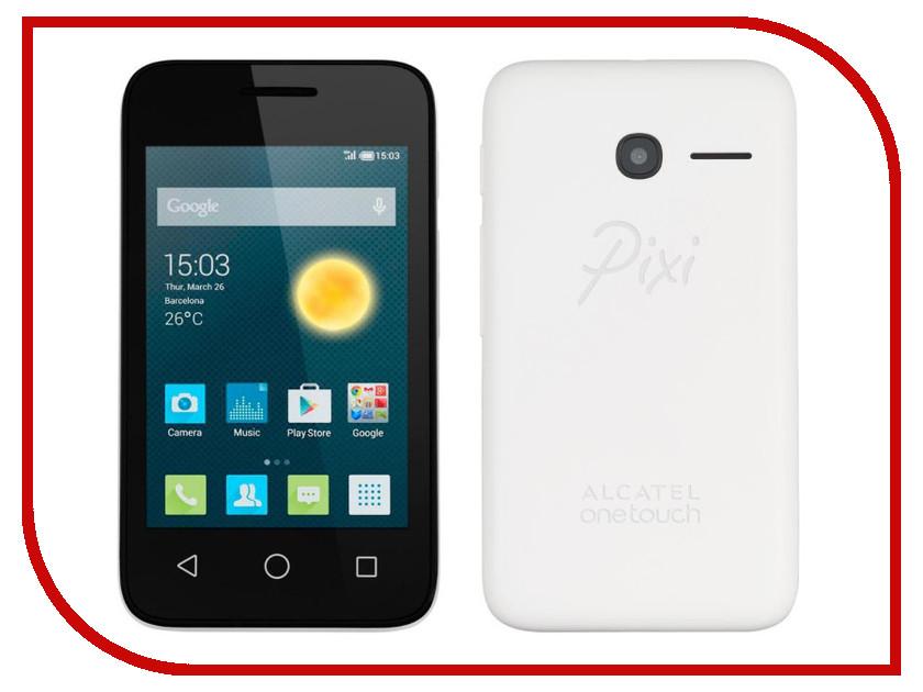 Сотовый телефон Alcatel OneTouch 4009D PIXI 3 (3.5) White<br>