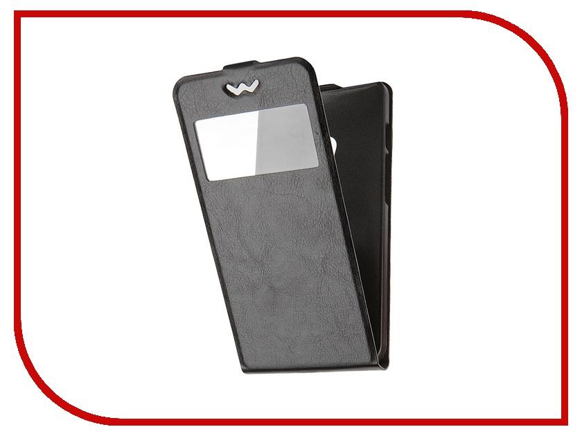 Аксессуар Чехол-флип ASUS ZenFone 5 SkinBox Slim AW Black T-F-AZ5-001<br>