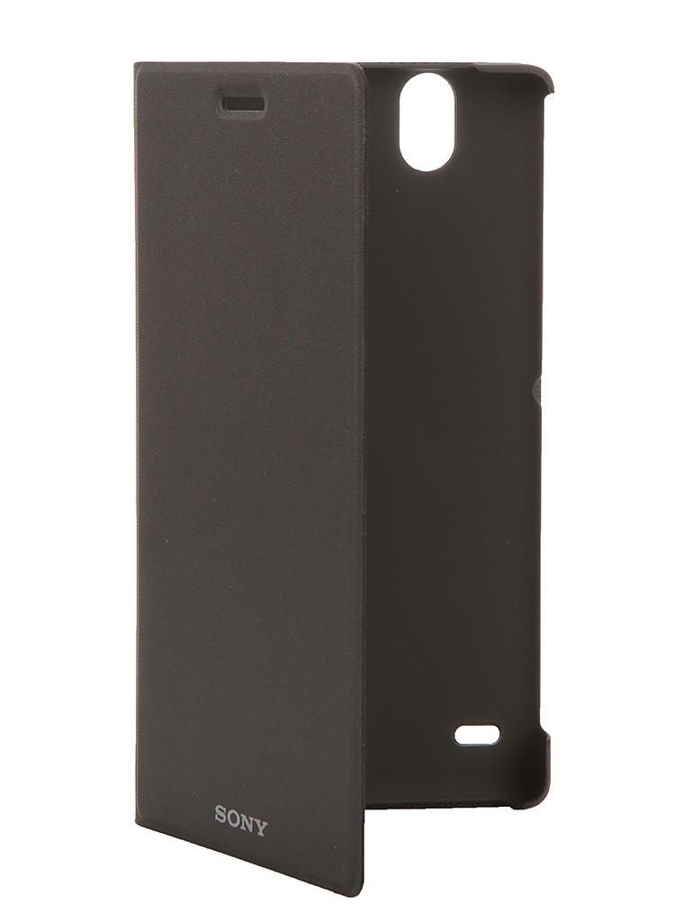 Аксессуар Чехол Sony Xperia C4 SCR38 Black<br>