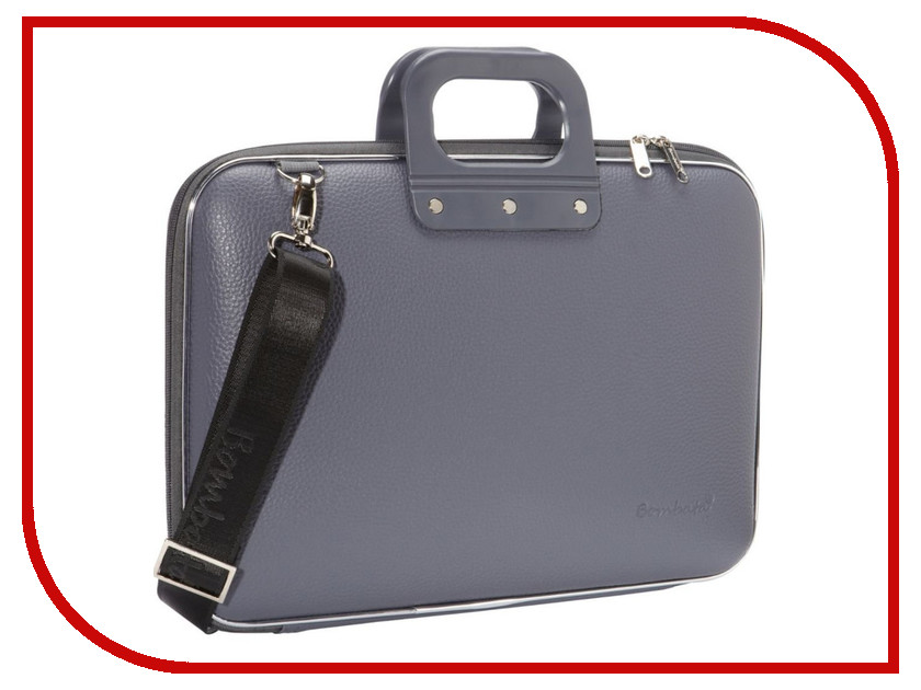 ��������� ����� 15.6 Bombata Classic Laptop Briefcase Charcoal