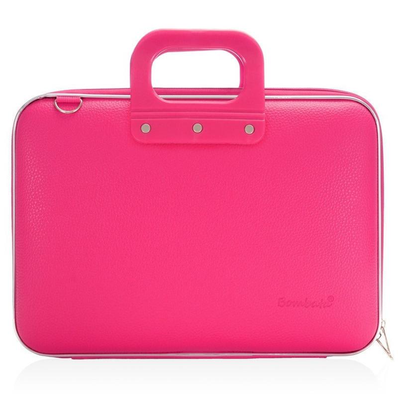 Аксессуар Сумка 15.6 Bombata Classic Laptop Briefcase Dark Pink<br>