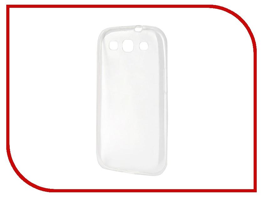 Аксессуар Чехол-накладка Samsung I9300 Galaxy S3 Gecko силиконовый Transparent<br>