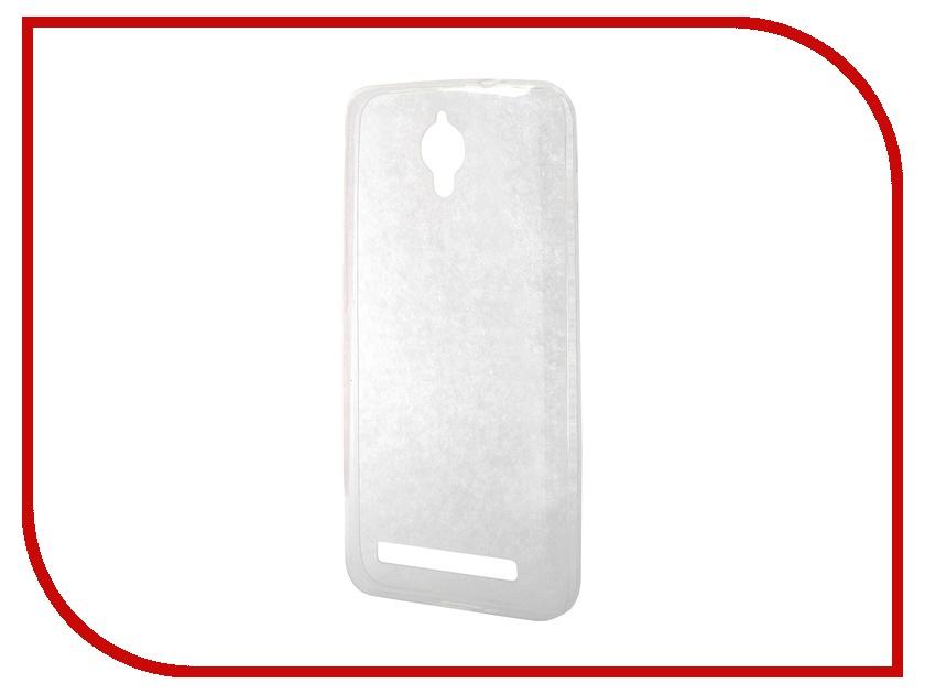 Аксессуар Чехол-накладка ASUS ZenFone C ZC451CG Gecko силиконовый Transparent S-G-ASZC451CG-WH<br>