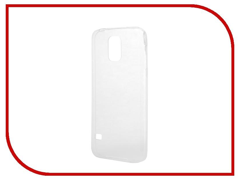 Аксессуар Чехол-накладка Samsung G900F Galaxy S5 Gecko силиконовый Transparent S-G-SGS5-WH<br>