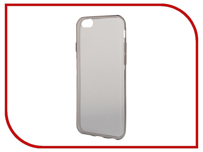 Аксессуар Чехол-накладка Gecko for iPhone 6 силиконовый Black<br>