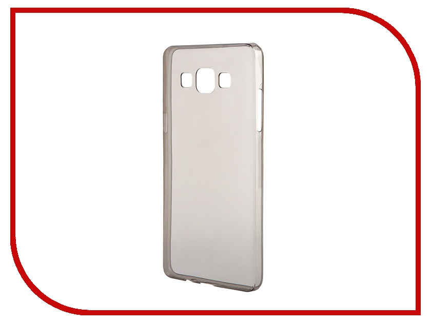 Аксессуар Чехол-накладка Gecko for Samsung Galaxy A5 A500F силиконовый Black аксессуар чехол samsung sm a500f galaxy a5 good egg кожа black