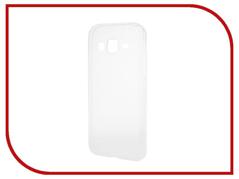 Аксессуар Чехол-накладка Samsung Galaxy Core Prime G360H Gecko Silicone Transparent S-G-SGCPRI-WH
