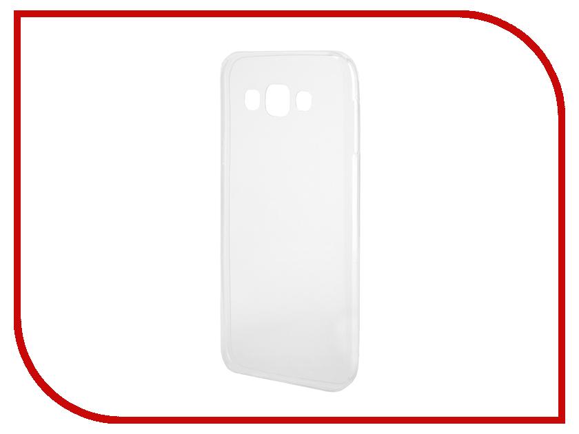 Аксессуар Чехол-накладка Samsung Galaxy E7 E700F Gecko Silicone Transparent