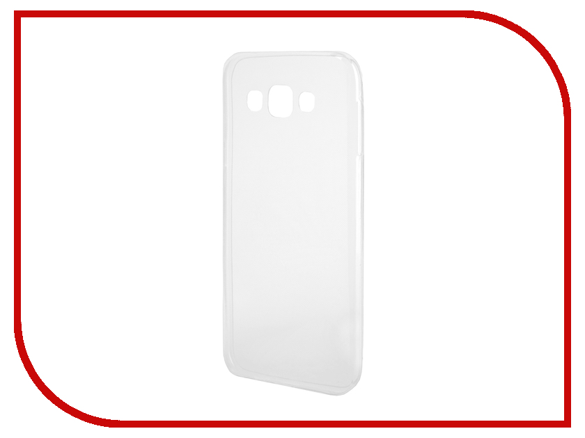 Аксессуар Чехол-накладка Samsung Galaxy E7 E700F Gecko Silicone Transparent чехол для lenovo tab 3 tb3 730x g case executive черный