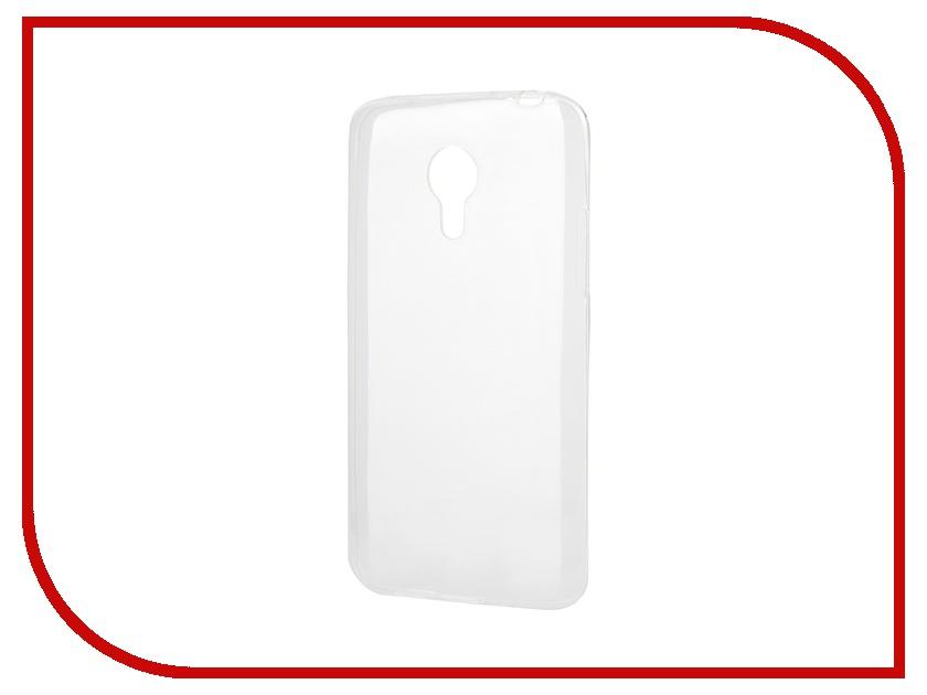 Аксессуар Чехол-накладка Meizu MX4 Gecko силиконовый Transparent S-G-MEIMX4