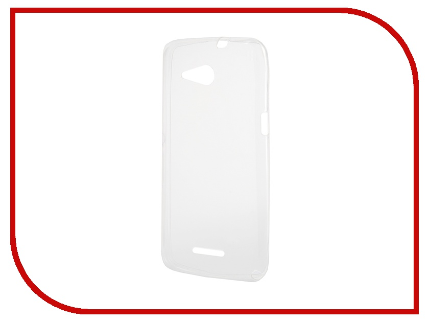 Аксессуар Чехол-накладка Sony Xperia E4G Gecko силиконовый Transparent