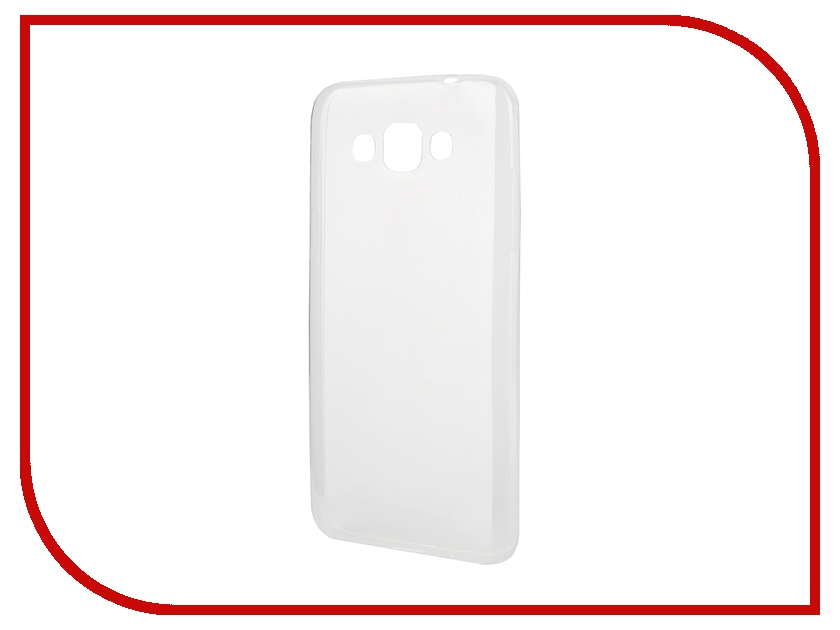 Аксессуар Чехол-накладка Samsung Galaxy Grand Max G720 Gecko Silicone Transparent
